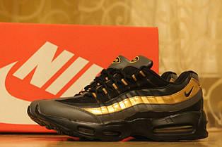 Модные мужские кроссовки Nike air max 95 черные