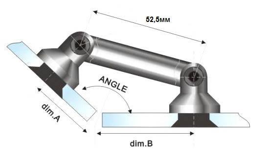 Фитинг HDL 803 52,5мм, фото 2