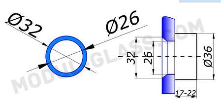 Точка 800-3 с зенковкой 20-26  мм, фото 2