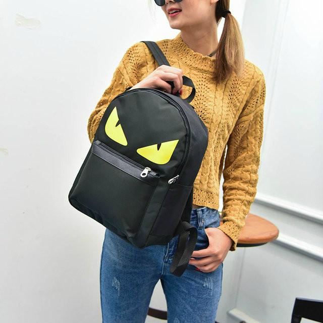 рюкзак с принтом глаз