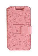 Чехол Florence Around the world для Xiaomi Redmi Note 2 ( 5 цветов)