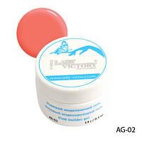 Розовый моделирующий гель Lady Victory AG-02