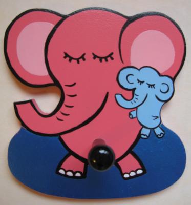 Детская вешалка «Слоники», Funny Animals