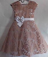Платье нарядное бархат 5-8 лет