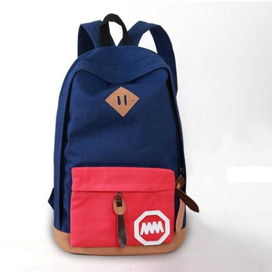 Городской двухцветный рюкзак