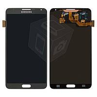 Дисплей + touchscreen (сенсор) для Samsung Galaxy Note 3 N9000, серый, оригинал