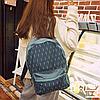 Стильный рюкзак с листиками городской, фото 2