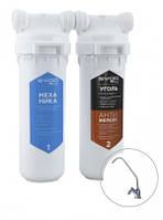 """Фільтр """"SVOD-BLU"""" для водопровідної води з підвищеним вмістом заліза 2-MC / F (k) + кран для очищеної води"""