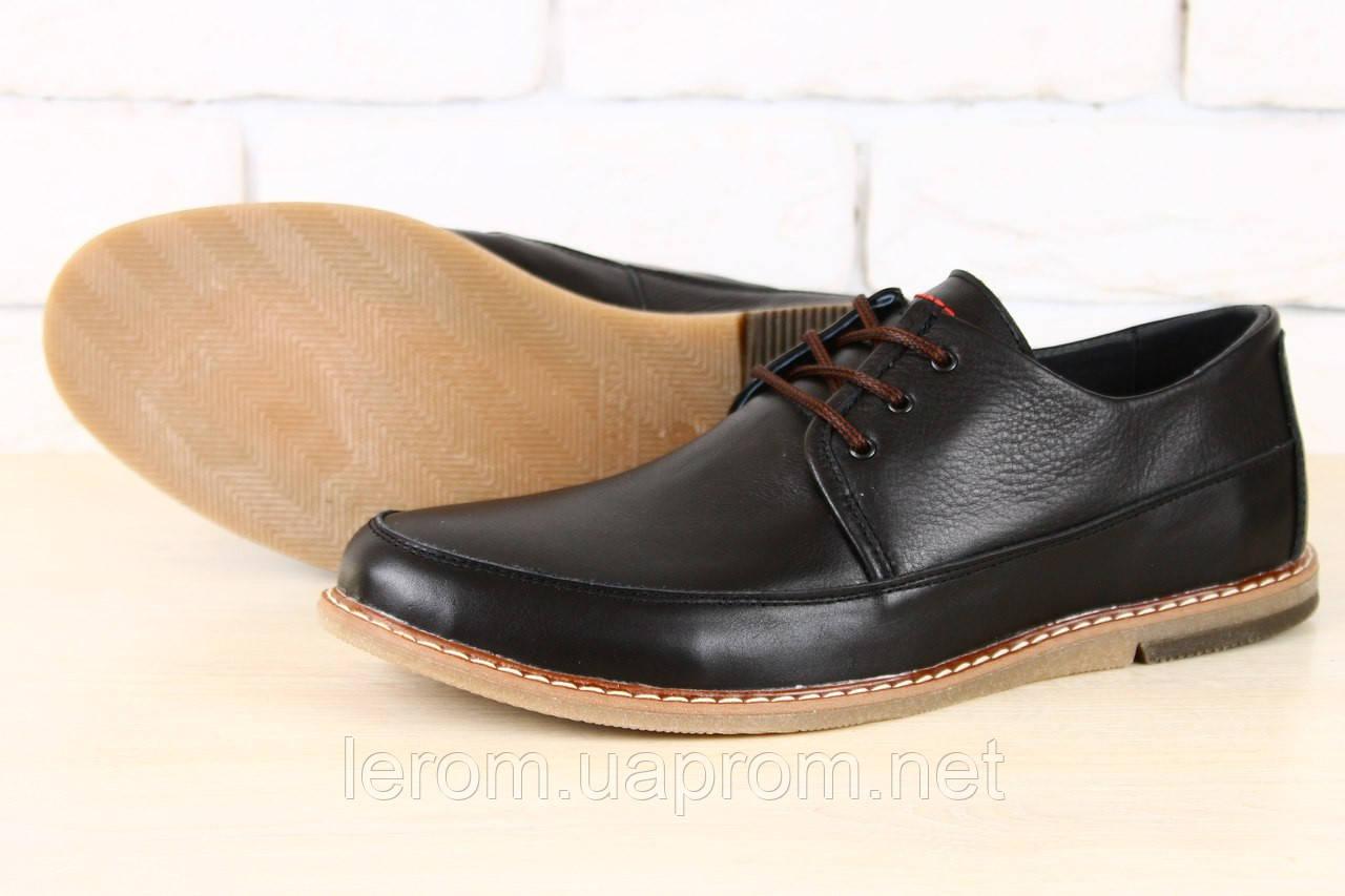 c25f6092e Стильные кожаные черные мужские туфли в стиле Tommy Hilfiger - GELENA  Торговый Дом в Харькове