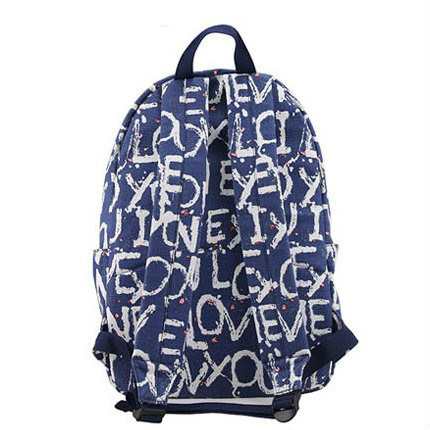 рюкзак с рисунком букв