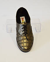 Женские туфли на шнурке Prellesta 342, фото 2