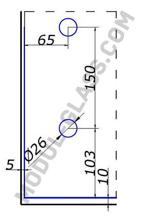 HDL 832 петля верхняя, фото 2