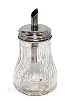 Сахарница с дозатором стекло VT6-17147