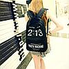 Городской рюкзак с модным рисунком, фото 6