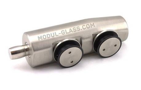 HDL 842 фитинг на стекло с осью, фото 2