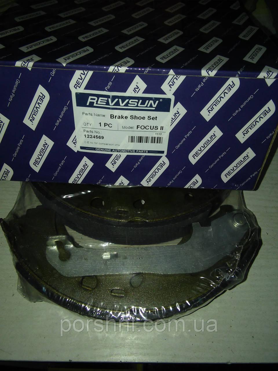Колодки тормозные  задние Форд  Фокус II 2003 -  228 X 42 . REVVSUN 1224569