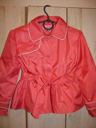 f8fb237509346a1 Ветровка плащ для девочек - Моника, верхняя одежда детская недорого ...