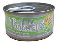 Консерва для собак Tobias Menu Курица с говядиной и горошком 85 г