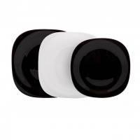 Сервиз luminarc carine white&black 18 предметов (n1479)