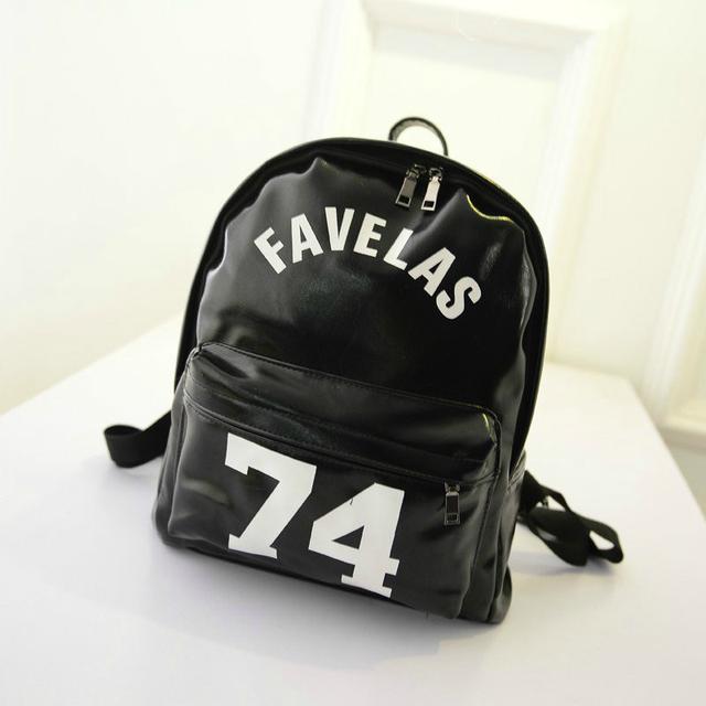 Стильный городской рюкзак черного цвета