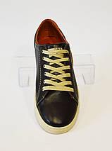 Мужские темно-коричневые кеды Konors 922/7, фото 2