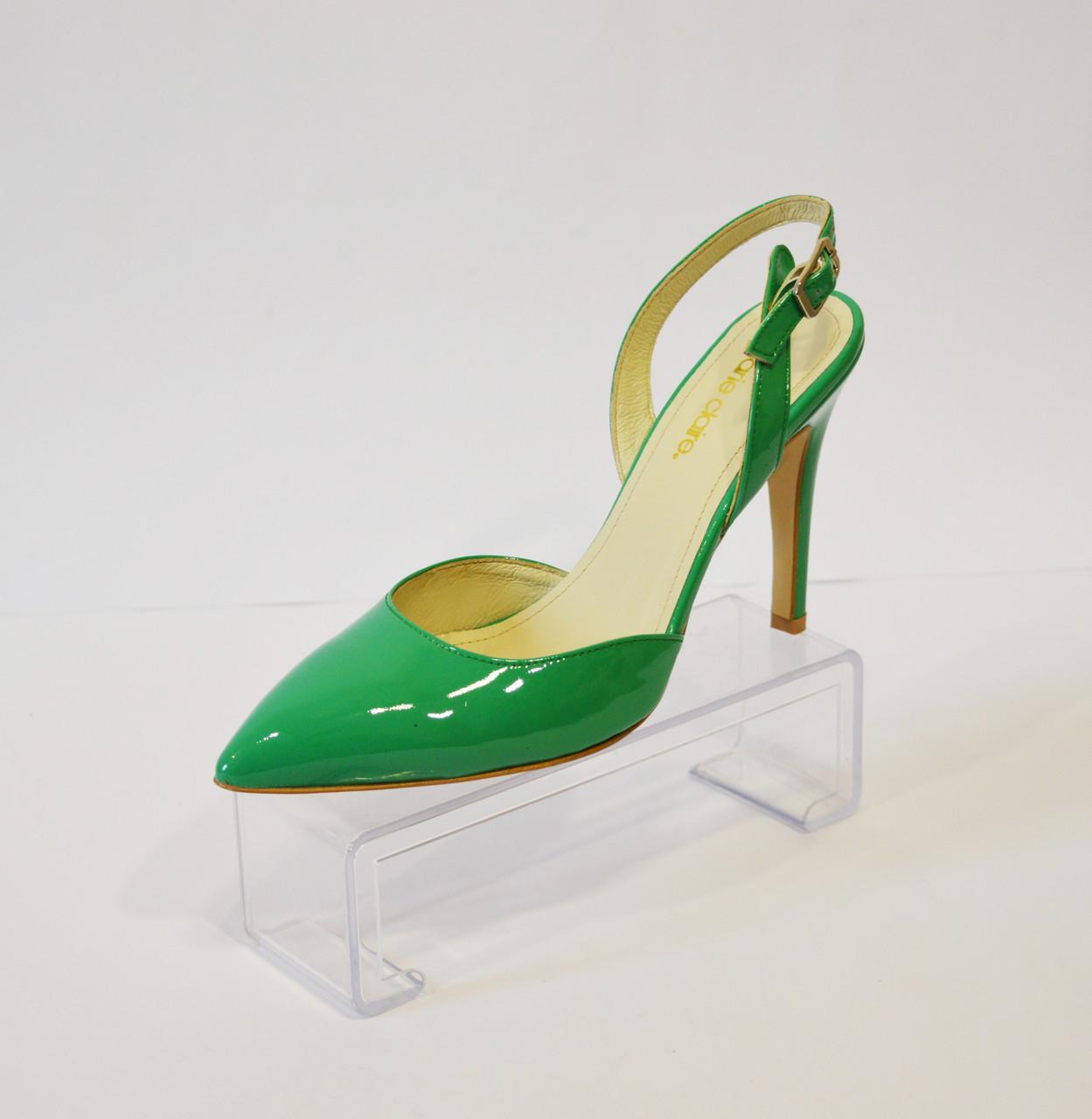 Женские зеленые босоножки Marie Claire