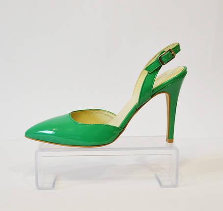 Женские зеленые босоножки Marie Claire, фото 2