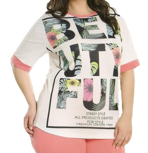 Купить в Украине Женская футболка и бриджи для лета