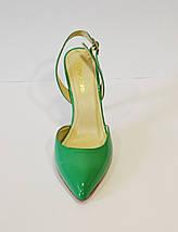 Женские зеленые босоножки Marie Claire, фото 3