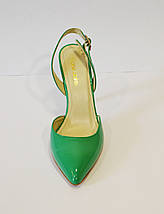 Жіночі зелені босоніжки Marie Claire, фото 3