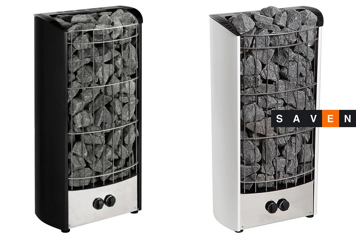 Электрическая каменка Harvia Figaro FG70 черная для сауны и бани
