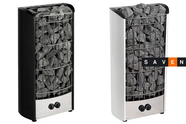 Электрическая каменка Harvia Figaro FG70 черная для сауны и бани, фото 2