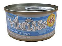 Консерва для кошек Vibrisse Menu Тунец с морепродуктами 70 г
