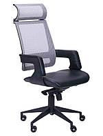 Кресло Axon черный, сетка серая