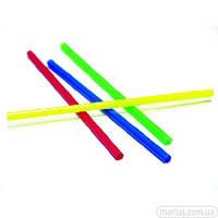 31450 Трубочки цветные без гофры 200 мм / 500 шт