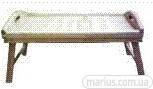 КР0077 Столик раскладной деревянный 528*328*40мм