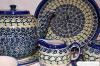 623/41 Сервиз чайный керамический на 6 персон декор DU-41