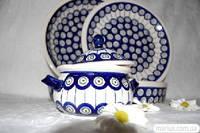 8A Сервиз обеденный керамический на 6 персон декор 8