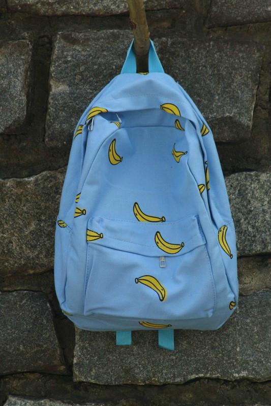 Городской рюкзак с бананами
