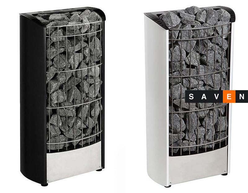 Электрическая каменка Harvia Figaro FG90E черная для сауны и бани