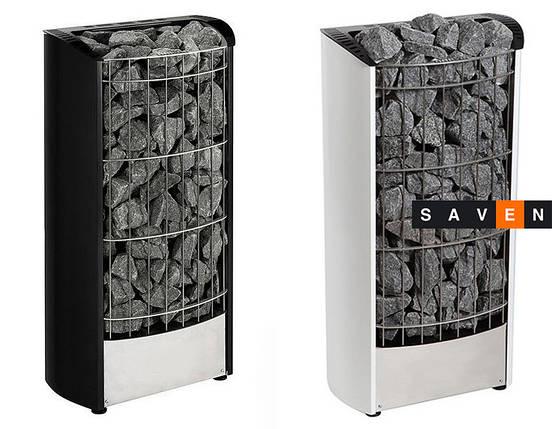 Электрическая каменка Harvia Figaro FG90E черная для сауны и бани, фото 2