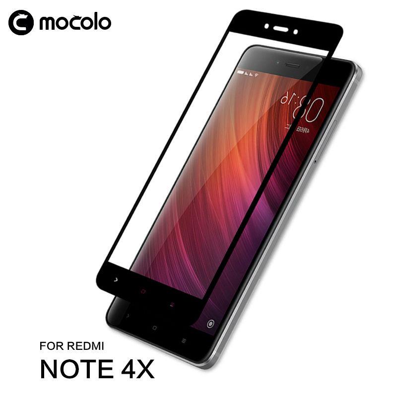 Защитное стекло Mocolo 2.5D 9H на весь экран для Redmi Note 4X Redmi Note 4 Global черный