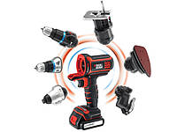 Шуруповерт Black&Decker MT18K multievo