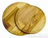 КА0012 Доска разделочная круглая со сточным желобом
