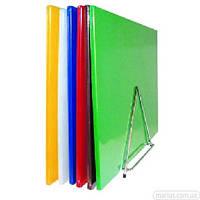 6215CH Доска разделочная полипропилен зеленая 380*500*12,5 мм