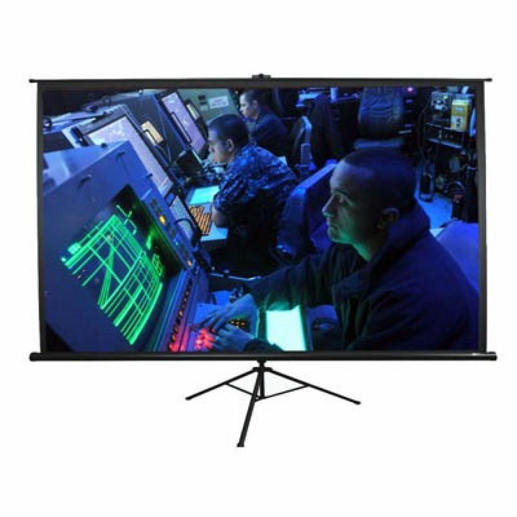 Elite Screens мобильный напольный 92 (16:9) 202.3 х 114.3 (T92UWH) Black Case