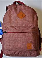 Рюкзак женский Bagland аналог Nike найк красный розовый малиновый