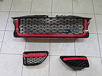 Решетка, жабры Range Rover Sport 2005-2009