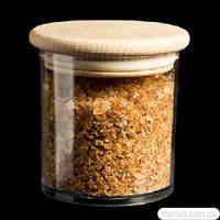 1354/6 Баночка для сыпучих продуктов с деревяной крышкой 250мл