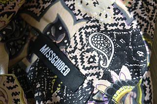 Кроп-топ в принт с широким воланом Missguided, фото 3
